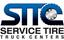 Service Tire Truck Center Logo