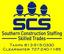 Southern Construction Staffing Logo