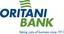 Oritani Bank Logo